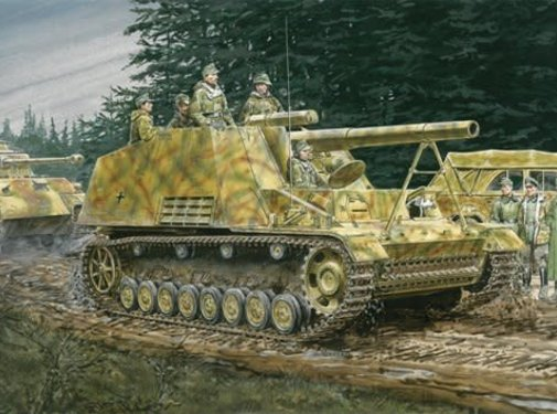 Dragon Models (DML) Sd.Kfz.165 Hummel Early/Late Production