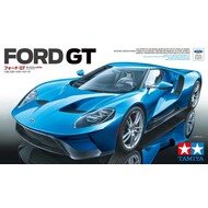 TAM - Tamiya 865- 24346 Tamiya Ford GT Sports Car 1/24 Plastic Model Kit