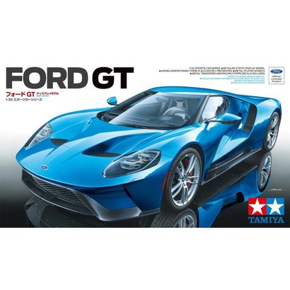 Tam Tamiya   Tamiya Ford Gt Sports Car   Plastic Model