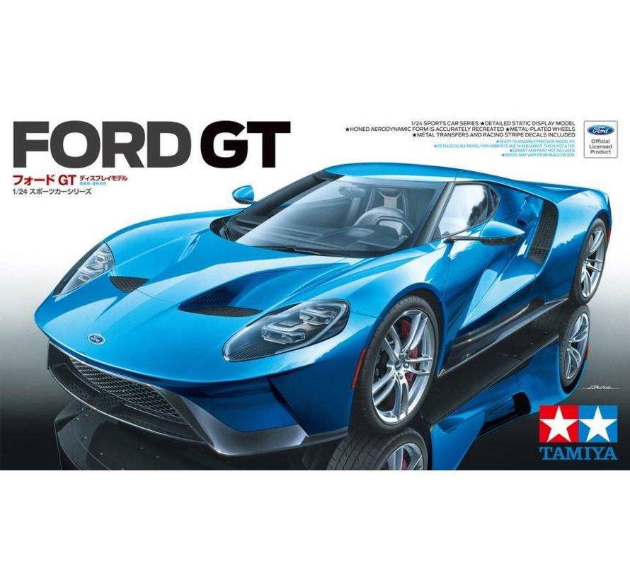 24346 Tamiya Ford GT Sports Car 1/24 Plastic Model Kit