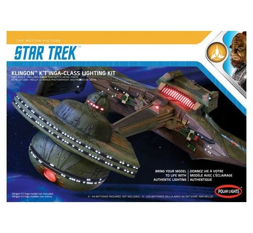 Polar Lights (PLL) MKA031 Star Trek Klingon K't'inga Lighting Kit 1/350
