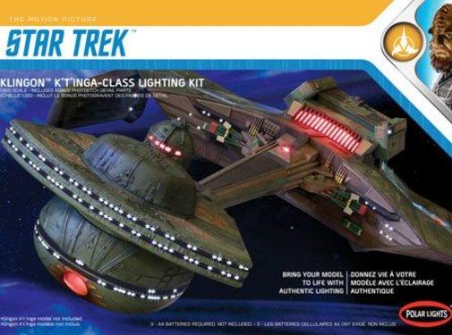Polar Lights (PLL) Star Trek Klingon K't'inga Lighting Kit