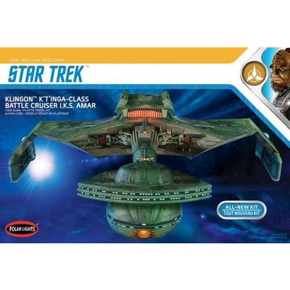 Polar Lights (PLL) PLL950  Star Trek Klingon K't'inga Plastic Model Kit 1/350