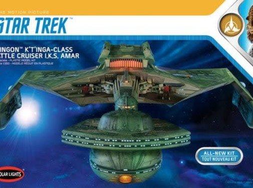 Polar Lights (PLL) Star Trek Klingon K't'inga 1/350