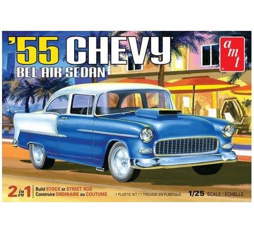 AMT - AMT Models 1119 - 1955 Chevy Bel Air Sedan 1/25 Plastic Model Kit