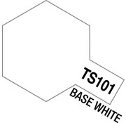 Tamiya (TAM) 865- 85101 TS-101 Base White 100ml Spray Can