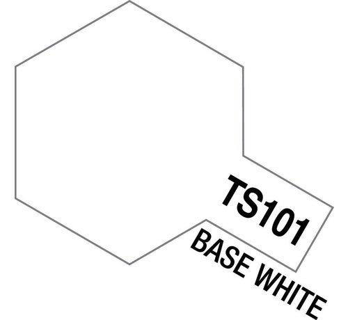 TAM - Tamiya 865- 85101 TS-101 Base White 100ml Spray Can