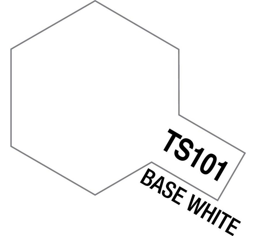 85101 TS-101 Base White 100ml Spray Can