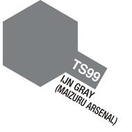 TAM - Tamiya 865- 85099 TS-99 IJN Gray, Maizuru Arsenal 100ml Spray