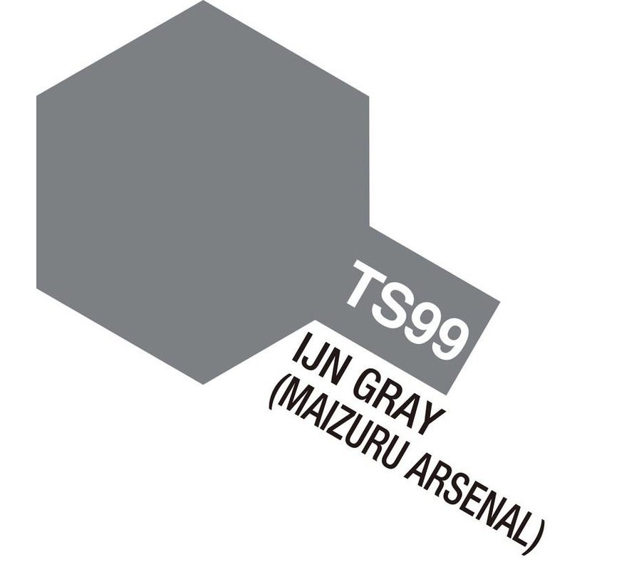 85099 TS-99 IJN Gray, Maizuru Arsenal 100ml Spray