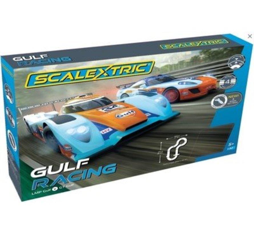 C1384T Slotcar Set 1/32 GULF RACING  - LMP GULF V GT GULF