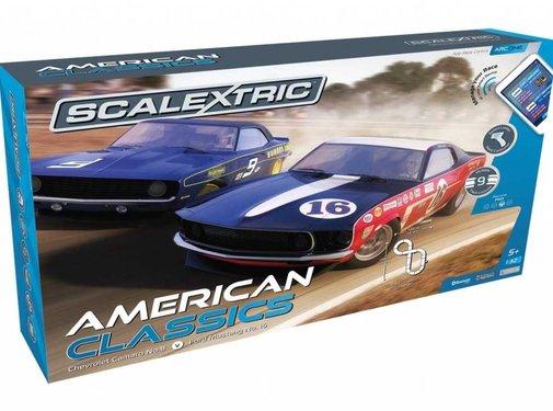 SSR-Scalextric SET 1:32 American Classics
