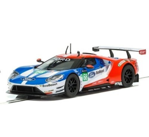 SSR-Scalextric C3857 Slotcar 1:32 Ford GT - GTE Number 66 Le Mans 2016