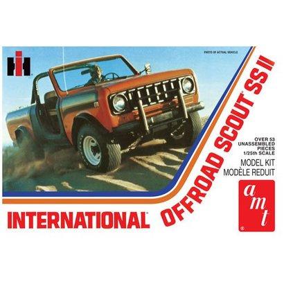AMT - AMT Models 1102 - International Offroad Scout SS II 1/25 Plastic Model Kit