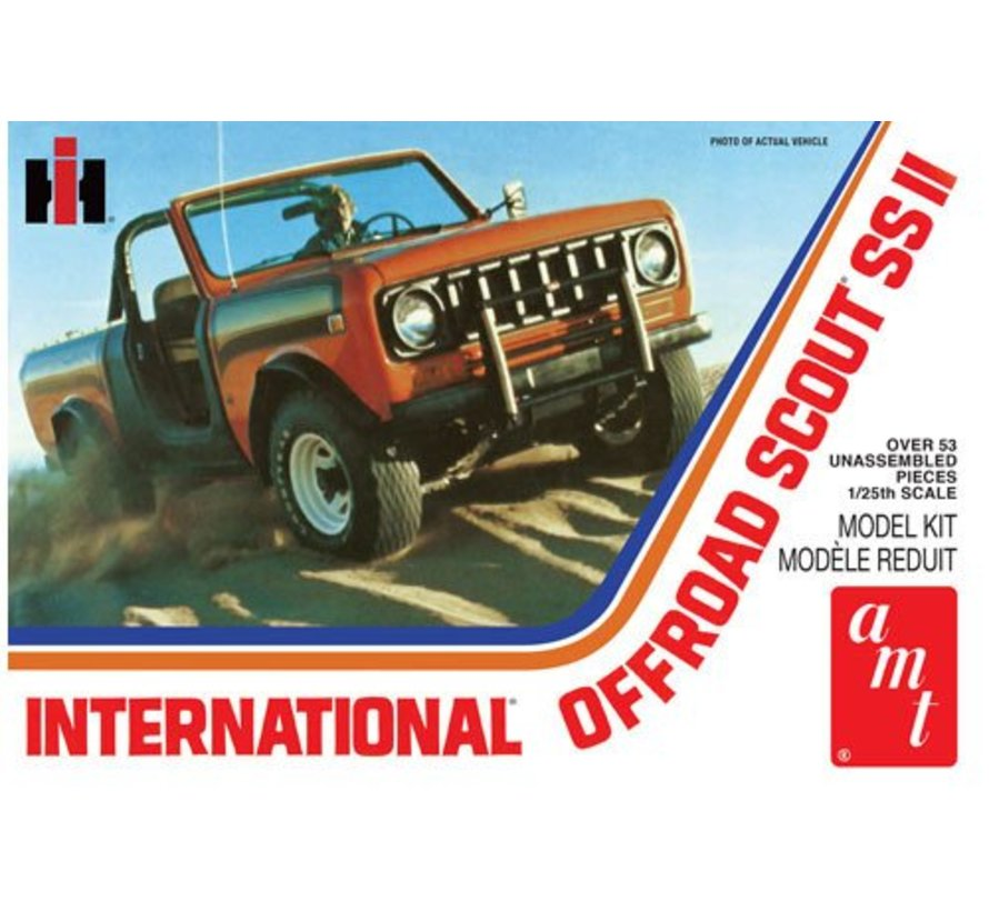 1102 - International Offroad Scout SS II 1/25 Plastic Model Kit