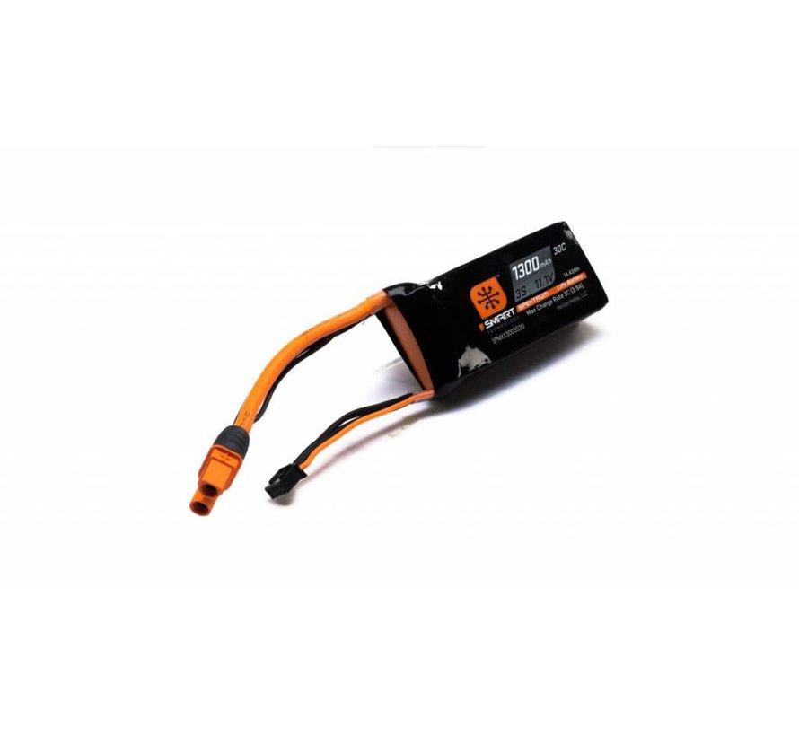 X13003S30 1300mah 3S 11.1V Smart LiPo Battery 30C; IC3