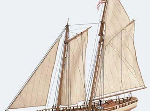ARTESANÍA LATINA (LAT) Virginia American Schooner 1/41Model Ship Kit
