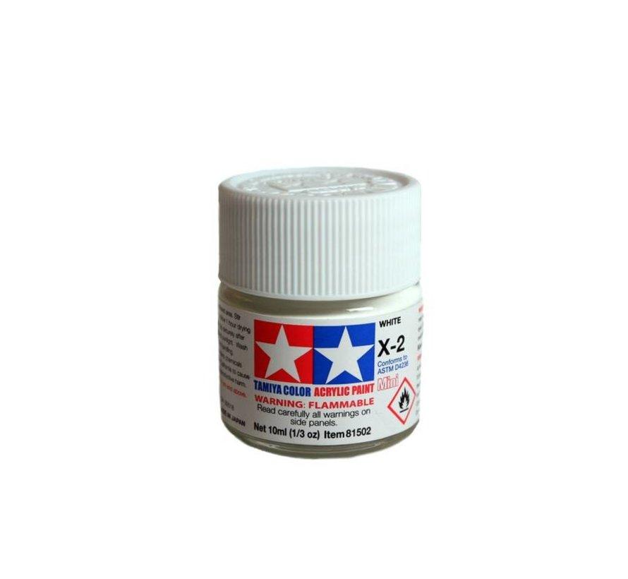 81502 Acrylic Mini X2  White