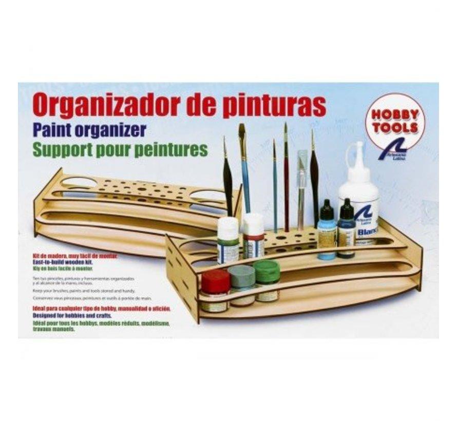 27648-P Paint & Accessory Organizer