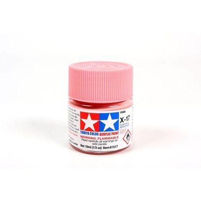 TAM - Tamiya 865- 81517 Acrylic Mini X17 Pink