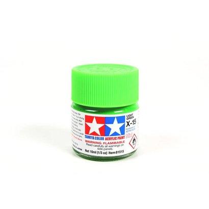 TAM - Tamiya 865- 81515 Acrylic Mini X15  Light Green