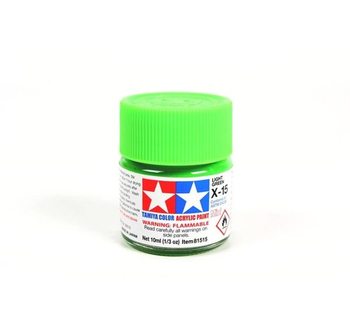 TAM - Tamiya 865- 81515 Acrylic Mini X15  Light Green