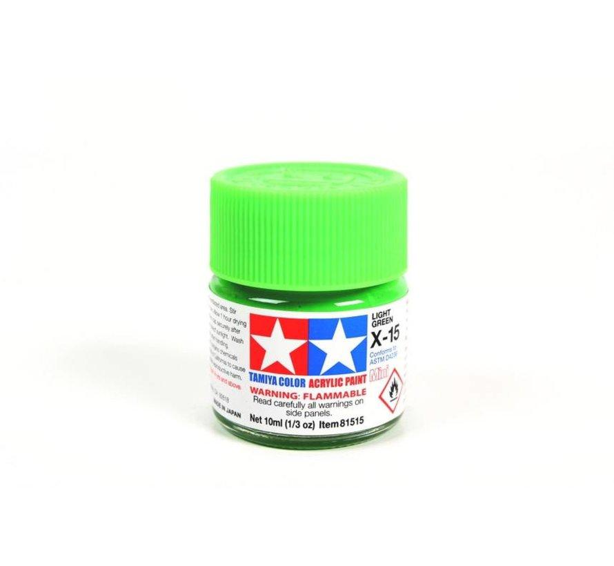 81515 Acrylic Mini X15  Light Green