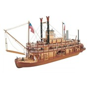 ARTESANÍA LATINA (LAT) Mississippi Paddle Wheel Steam Boat Kit