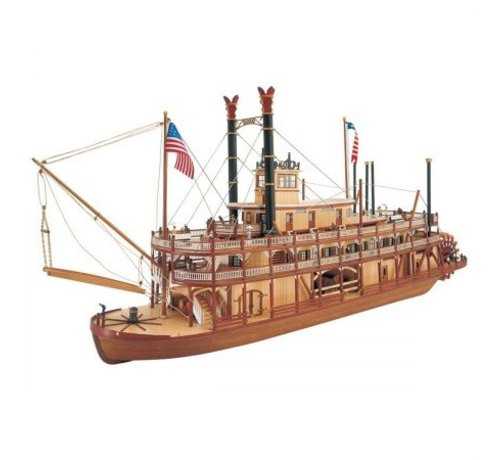 ARTESANÍA LATINA (LAT) 20505 Mississippi Paddle Wheel Steam Boat Kit 1/80