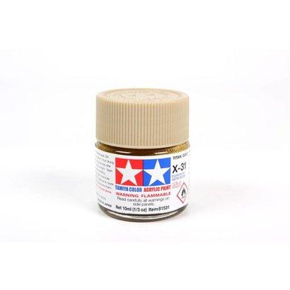 TAM - Tamiya 865- 81531 Acrylic Mini X31 Titanium Gold