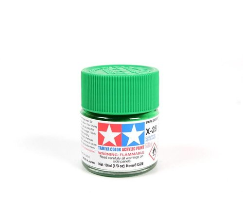 TAM - Tamiya 865- 81528 Acrylic Mini X28  Park Green