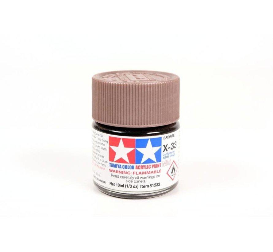 81533 Acrylic Mini X33 Bronze 1/3 oz