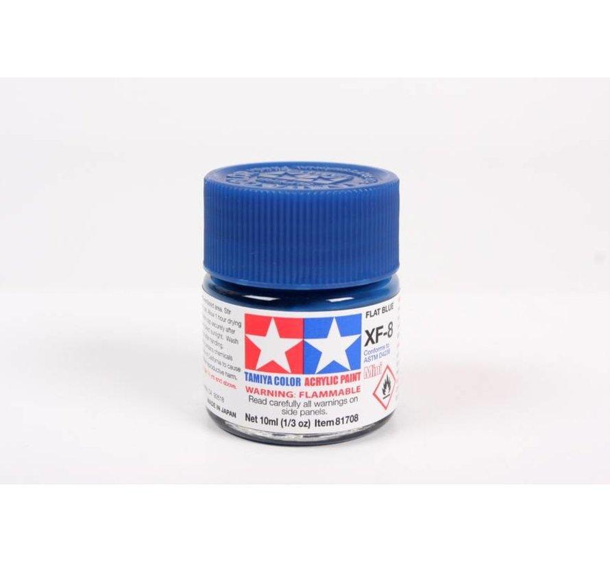 81708 Acrylic Mini XF8, Flat Blue