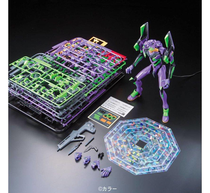 "#03 EVA-01 Test Type Awakening Ver ""Rebuild of Evangelion"" Bandai HG Evangelion"