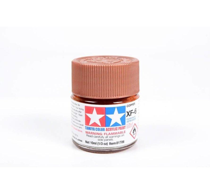 81706 Acrylic Mini XF6 Copper 1/3 oz