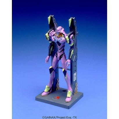 "BANDAI MODEL KITS 056322 #007 EVA-01 Test Type (Launch Pad Ver) ""Evangelion"", Bandai HG Evangelion"