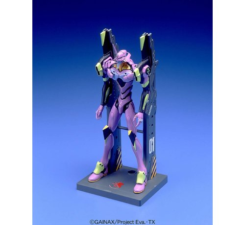 "BANDAI MODEL KITS 056322 #007 EVA-01 Test Type (Launch Pad Ver) ""Evangelion"", Bandai HG Evangelion"