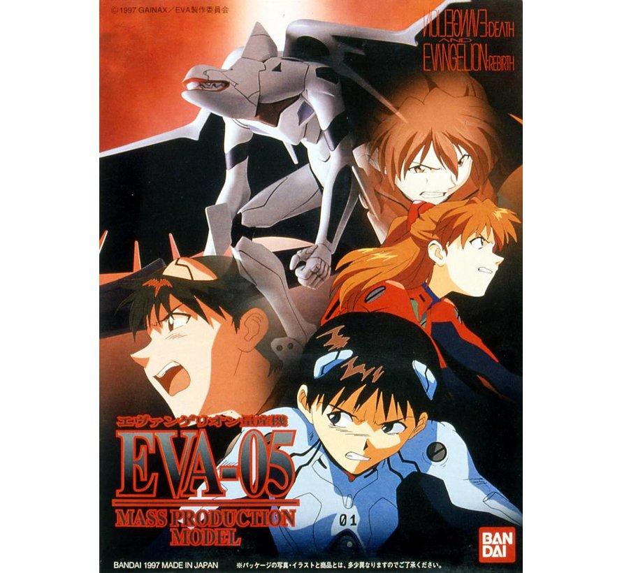 "055850 #008 EVA-05 Mass Production Model ""Evangelion"", Bandai HG Evangelion"