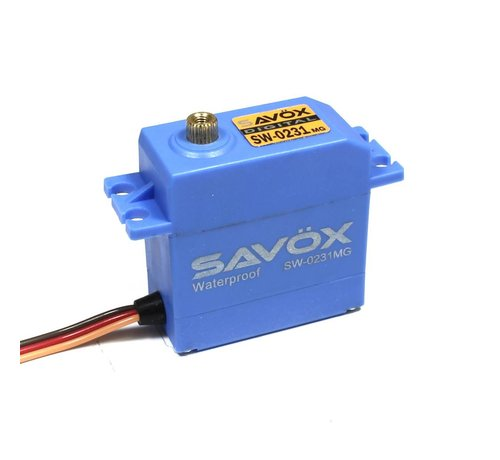 SAV - Savox SW0231MG Waterproof Standard Digital Servo .15/208 @ 6.0V