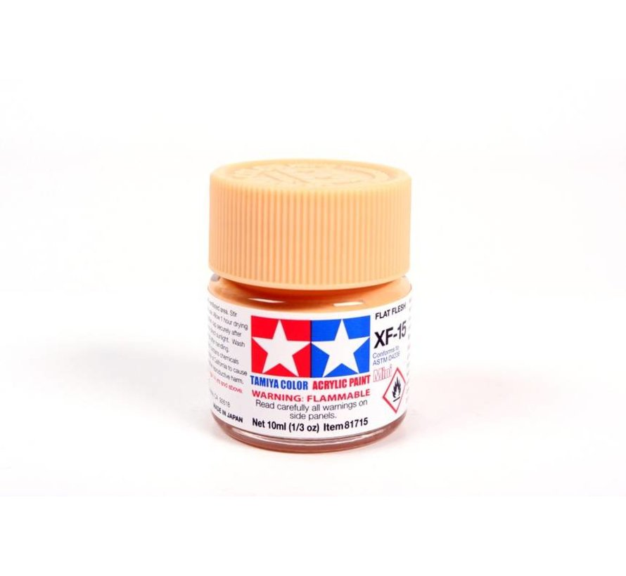 81715 Acrylic Acrylic Mini XF-15 Flat Flesh 1/3 oz