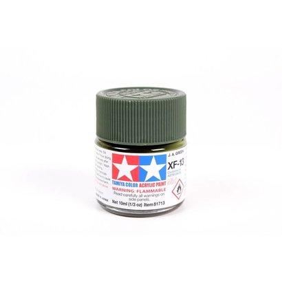 TAM - Tamiya 865- 81713 Acrylic Mini XF13  J.A. Green