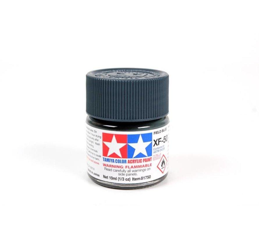 81750 Acrylic Mini XF50 Field Blue 1/3 oz