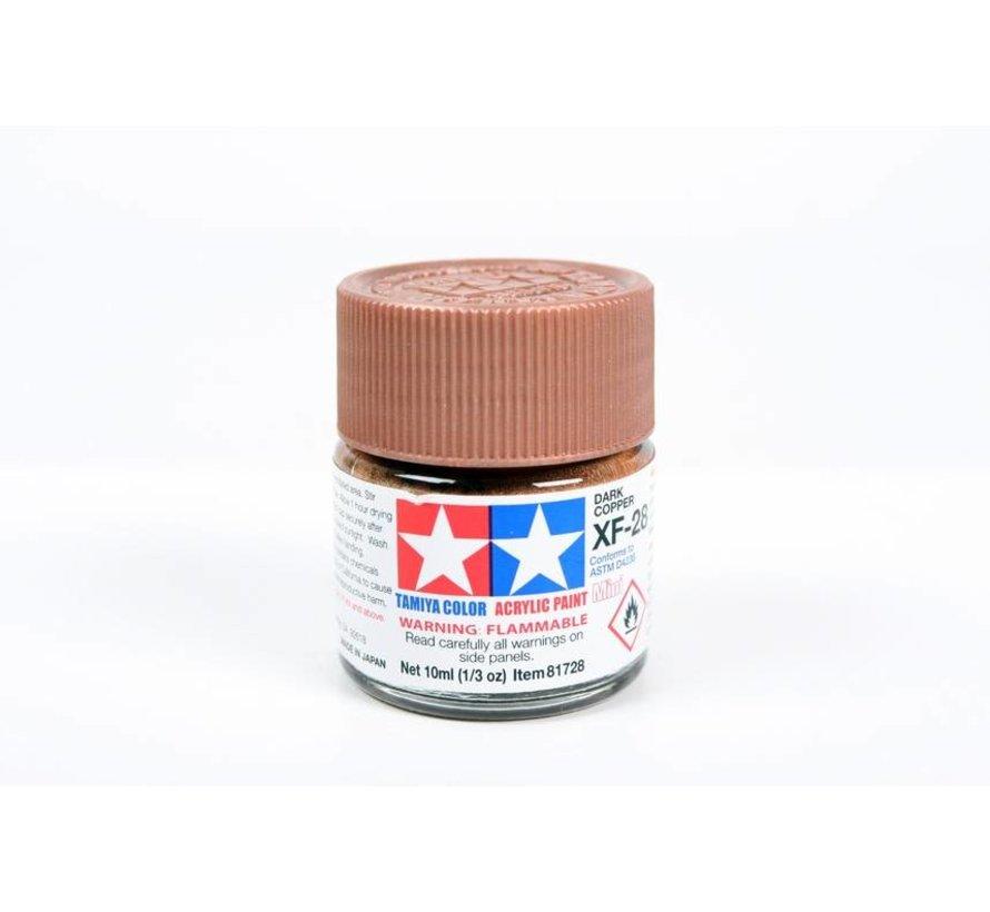 81728 Acrylic Mini XF28 Dark Copper