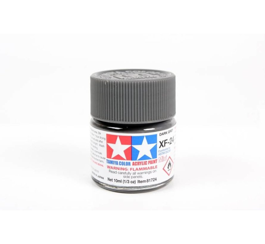 81724 Acrylic Mini XF24 Dark Gray 1/3 oz