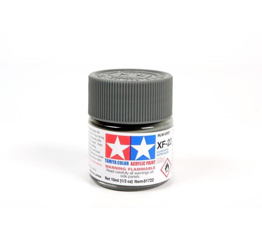 81722 Acrylic Mini XF22 RLM Gray