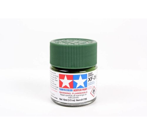 TAM - Tamiya 865- 81726 Acrylic Mini XF26  Deep Green