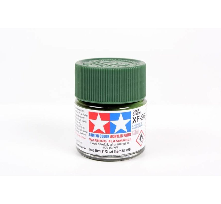 81726 Acrylic Mini XF26  Deep Green