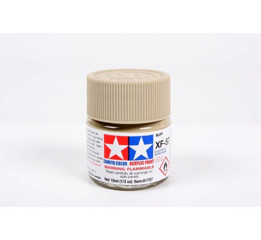 81757 Acrylic Mini XF57, Buff