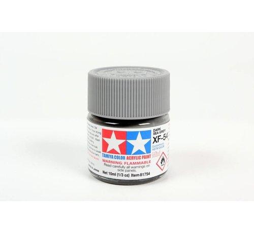 TAM - Tamiya 865- 81754 Acrylic Mini XF54 Dark Sea Gray