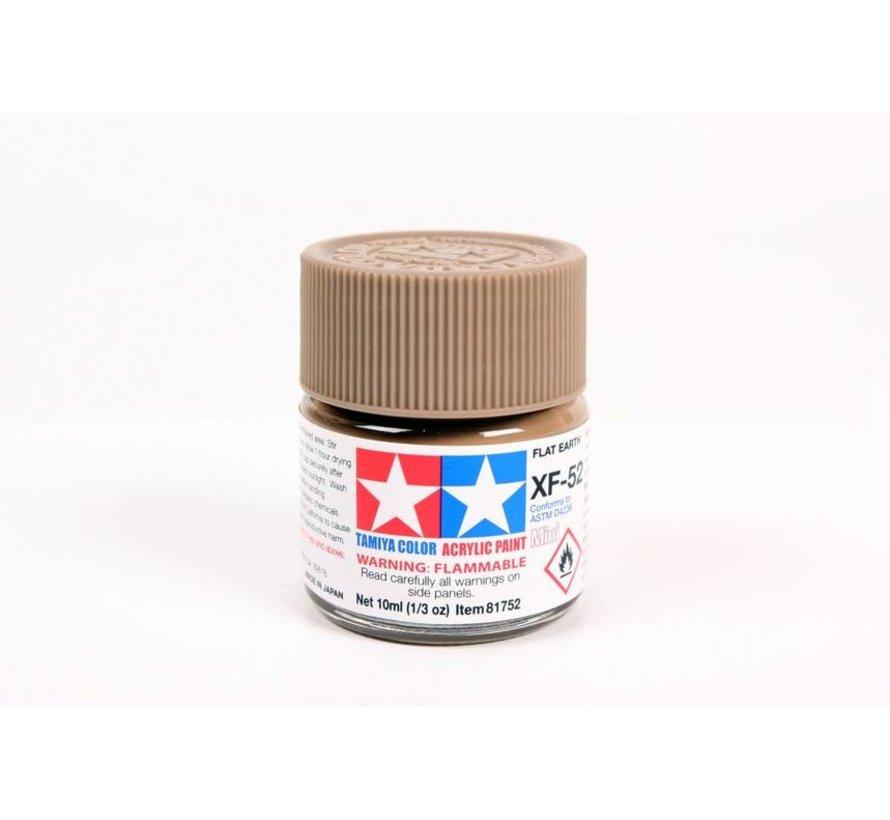 81752 Acrylic Mini XF52  Flat Earth
